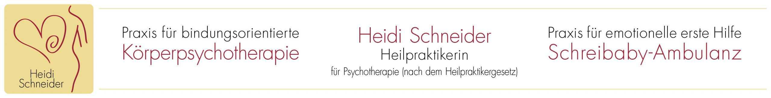 Körperpsychotherapie Heidi Schneider Logo
